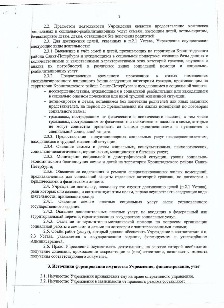 Устав учреждения (стр. 3)